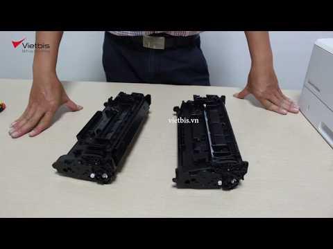 Máy in HP M404dn có dùng chung hộp mực với HP M402 ?