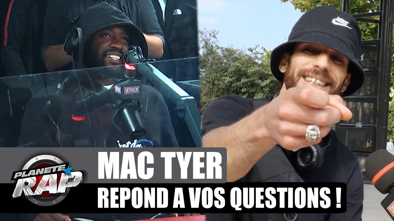 Mac Tyer ARRÊTE le RAP pour la MODE ? Il répond à VOS questions ! #PlanèteRap