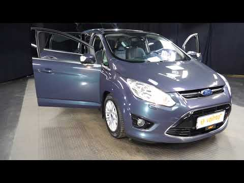 Ford C-MAX 1,6 150 EcoBoost Titanium 5-ov, Tila-auto, Manuaali, Bensiini, IJT-587