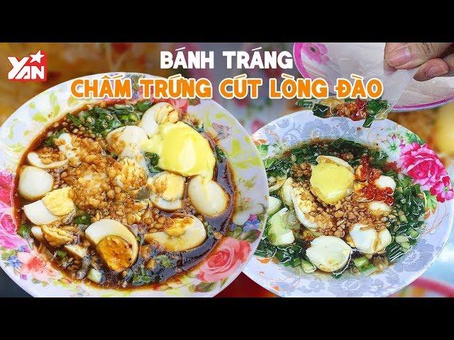 Bánh Tráng Chấm Trứng Cút Lòng Đào   Món Ngon Yan Food