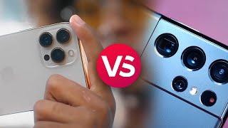 Apple iPhone 13 Pro Max vs Samsung Galaxy S21 Ultra 5G: Spec Comparison