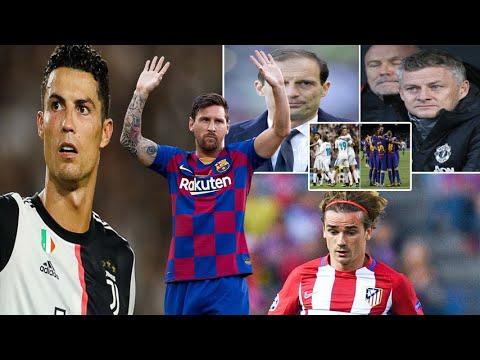 MC Messi oo seefta gasha kala baxay Waqtiga Classico & carada gud Barca & Man utd oo Allegri lahadla