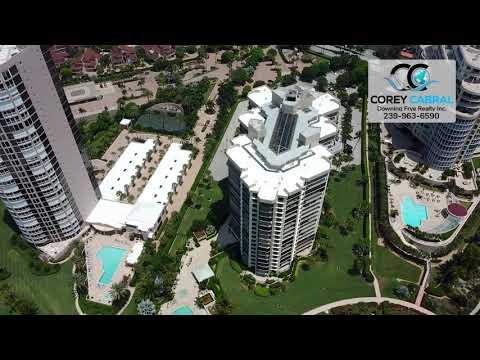 Park Shore Esplanade Real Estate Flyover in Naples, Florida