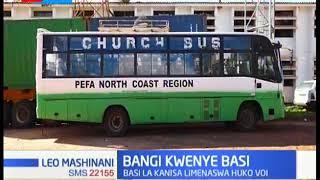 BANGI: Polisi wanasa basi la Kanisa la PEFA, lililokua likisafirisha misokoto 230 ya Bangi