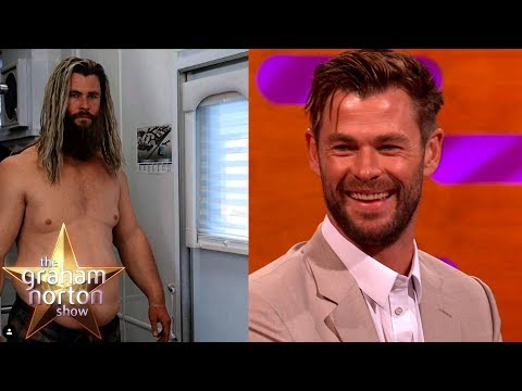 Chris Hemsworth o tlustém Thorovi a o svém synovi - The Graham Norton Show