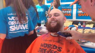 Paul Does The Worlds Greatest Shave