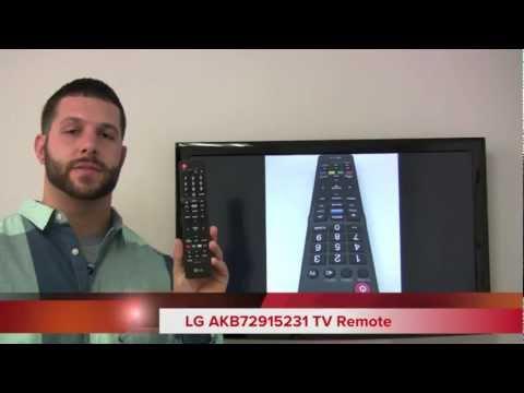 LG AKB72915231 TV Remote Control