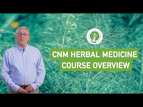 CNM Herbal Medicine Full Diploma course overview | Online | In ...