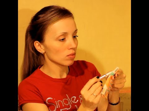 посылка из Китая, Алиэкспресс, карандаш для отбеливания зубов. Способ применения.