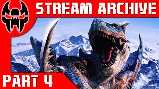 Stream Archive TJ Plays Monster Hunter Freedom Unite Part 4 Giant Enemy Crab