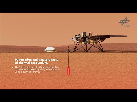 Video explainer on InSight's HP3 instrument