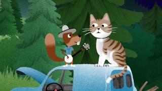 Lille kattepus - Fra den norske barnesang appen SYNG med Maria Haukaas Mittet