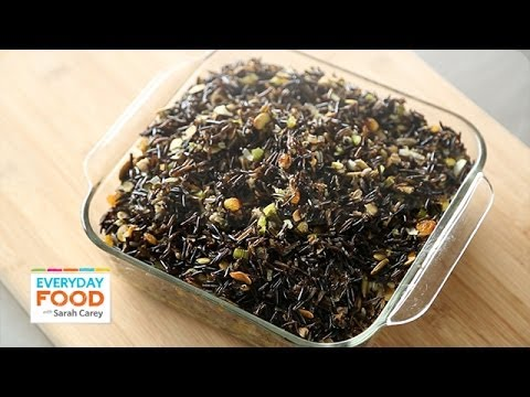 Wild Rice Stuffing – Thanksgiving Recipes – Everyday Food with Sarah Carey