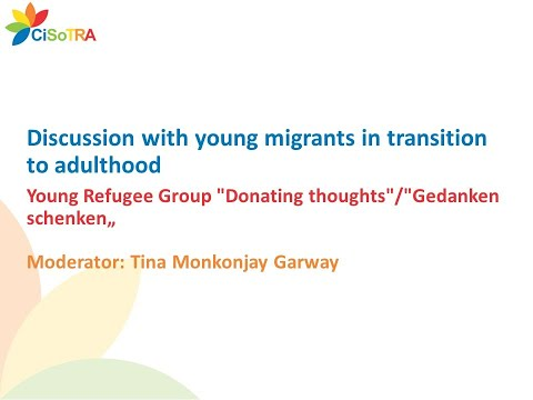 Discussion with young migrants in transition to adulthood