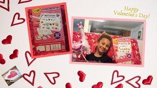 Crayola Valentine Card  Mailbox | Valentine's Day Kids Craft