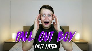Listening to FALL OUT BOY for the FIRST TIME | Reaction