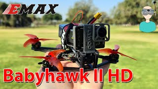 "3.5"" - The New Micro Standard? Emax Babyhawk II HD - Review, Setup & Flight Footage"