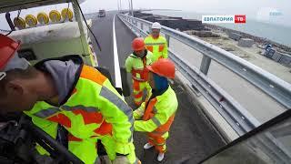 Крымский мост почти готов встретить первых автомобилистов