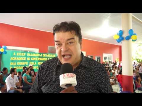 DR. NEIDSON ENTREGA AMBULANCHA E PARTICIPA DA REINAUGURAÇÃO DE ESCOLAS E POSTO DE SAÚDE