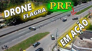 DRONE flagra PRF em OPERAÇÃO wanzam fpv