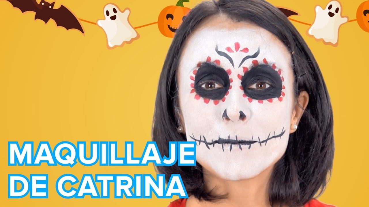 Catrina | Maquillaje de Halloween para niños