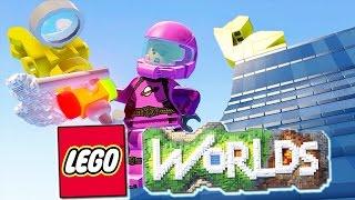 МАСТЕР-СТРОИТЕЛЬ В LEGO WORLDS