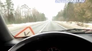 Определение положения колес на дороге