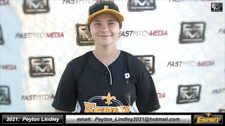 2021 Peyton Lindley Third Base and Middle Infield Softball Skills Video - Esprit Fastpitch