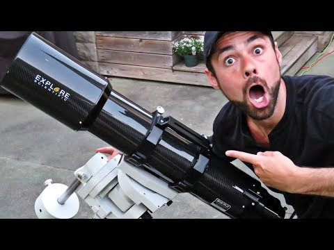 My HUGE Astrophotography Telescope