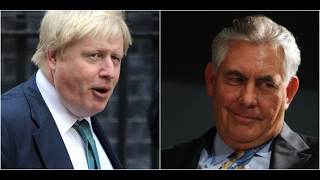 WOW: Boris Johnson from the UK and Secretary of State Rex Tillerson Agree on Russia!!!