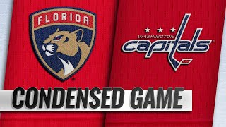 02/09/19 Condensed Game: Panthers @ Capitals