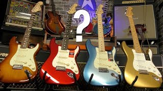 Fender American Strats - Whats The Difference?
