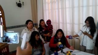 Familiares de detenidos en operativo Encrucijada