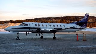 Air Norway / North Flying ✈ Fairchild Metro 23 [OY-NPF] ✈ Fagernes - Oslo ✈ 6 DEC 2015