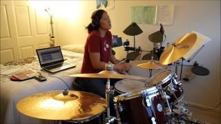 Drum Cover-Sunset In July-311