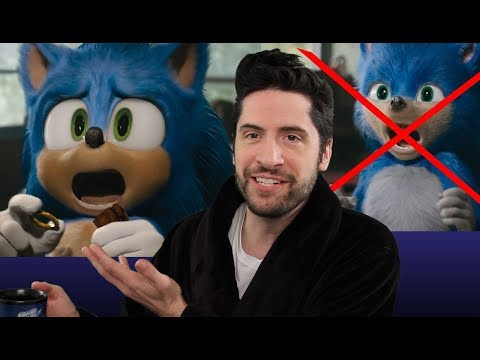 Sonic The Hedgehog - New Official Trailer - SONIC FIXED! (My Thoughts)
