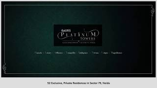 Gaur Platinum Towers 4BHK Flats at Noida @9711836846