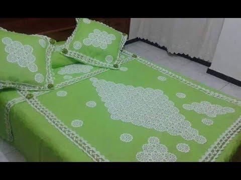 خيري واختاري تشكيلة مفارش سرير بالكروشي ولا اروع