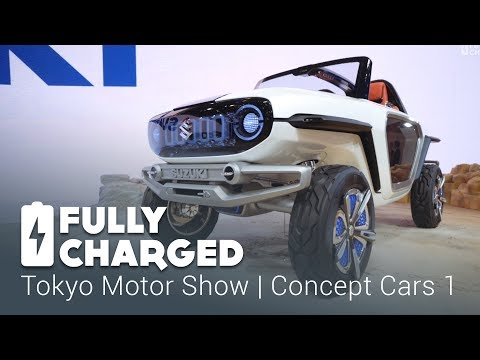 Tokyo Motor Show 1 - Concept Cars 1 | Fully Charged