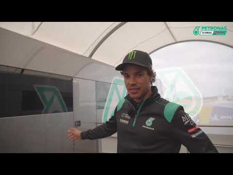 Franco Morbidelli shows us around the PETRONAS Yamaha SRT trucks