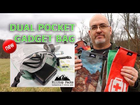 Dual Pocket Gadget Bags w/ Custom Printing