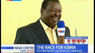 RACE FOR KIBRA - ANC party stategise Owalo's campaign