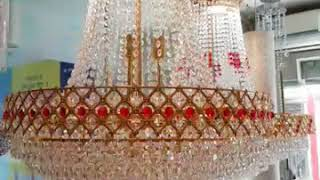 Crystal Chandeliers Size 480mm, 600mm & 800mm. Contact Smarcade2015@gmail.com