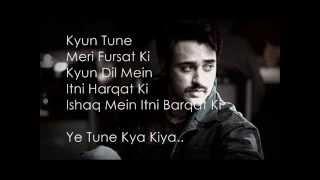 Yeh Tune Kya Kiya Lyrics (Once Upon A Time In Mumbaai