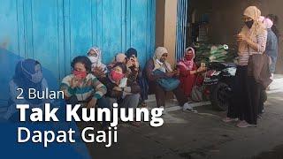 2 Bulan Tak Kunjung Dapat Gaji, Belasan Buruh di Gatak Sukoharjo Geruduk Kantor CV Pi-Xu