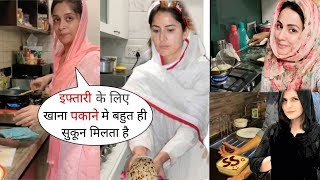 Muslim Actress Zareen,Katrina,Hina and Other Cooking for Iftar in Ramadan 2020 | Prepared Many Item