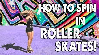 HOW TO SPIN IN ROLLER SKATES WITH CANDICE HEIDEN! - Ep. 7 Planet Roller Skate