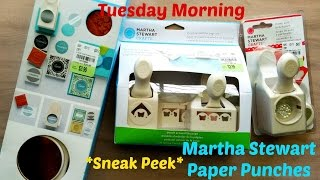 New At Tuesday Morning April 30th | Martha Stewart Paper Punches
