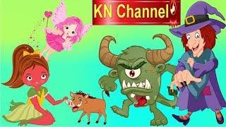 Hoạt hình KN Channel BÉ NA PHÁT HIỆN BÀ PHÙ THỦY GIẢ LÀM TIÊN BƯỚM BẮT CÓC EM BÉ tập cuối