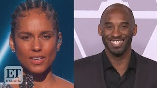 Graeme O'Neil takes a look at the tributes for the late Kobe Bryant, including Alicia Keys' tribute on the 2020 Grammy Awards.  SUBSCRIBE to our channel:  https://www.youtube.com/user/ETCanadaOfficial  FOLLOW us here:  http://www.etcanada.com  Facebook: https://www.facebook.com/etcanada  Twitter: http://www.twitter.com/etcanada  Instagram: http://www.instagram.com/etcanada  #KobeBryant #AliciaKeys #Grammys